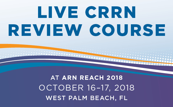 Live CRRN Review Course